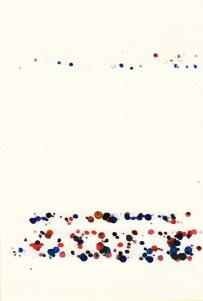 Rui Horta Pereira, DÉBITO, # 5 (1ªp), Tinta sobre papel, 21x15cm, 2011. Cortesia do artista.