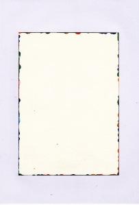 Rui Horta Pereira, DÉBITO, # 6 (2ªp), Tinta sobre papel, 21x15cm, 2011. Cortesia do artista.
