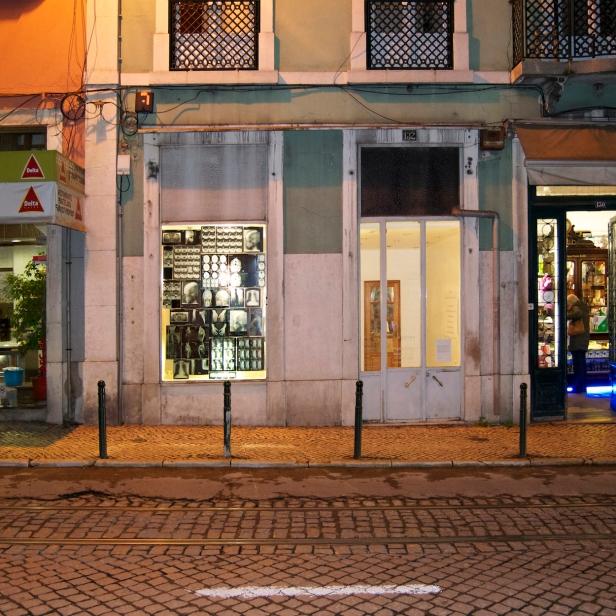 Intervenção de Miguel Palma, A Montra, Lisboa 2014. Cortesia A Montra.