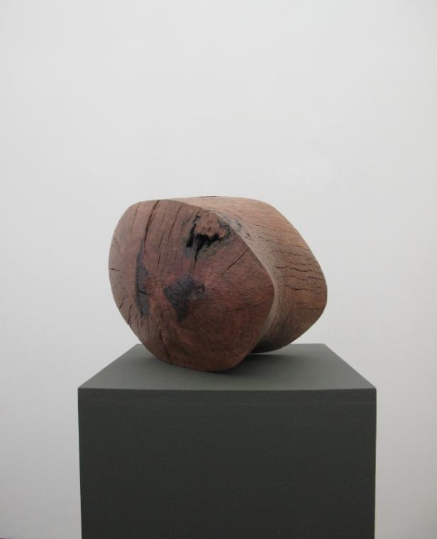 Claire de Santa Coloma, Sem título 2014, Madeira de azinheira, 26 x 38 x 33 cm. Imagem cortesia da artista e 3+1 Arte Contemporânea, Lisboa