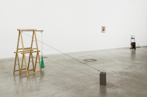 João Ferro Martins, vista da exposição Reprise, Espaço Padaria Independente - Galeria Fernando Santos, Porto, 2014.