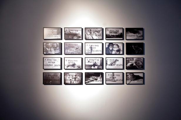 João Louro, exposição '5 minutes After Violent Death', Travessa da Ermida, Lisboa, 2014. Cortesia Travessa da Ermida.