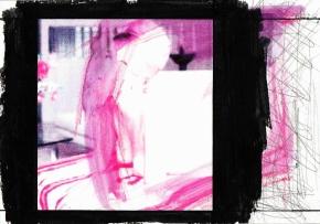 Pedro Sousa Vieira, Jeannie Butler, 2013 Colored pencil, watercolor, inkjet print, graphite and gouache. Cortesia do artista e Galeria Belo-Galsterer, Lisboa, 2014.
