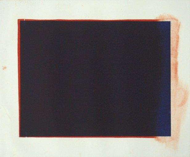 José Pedro Croft - Sem título, 2006 - Gravura em água tinta, nº 14/24 - 50x65cm. Cortesia do artista e Galeria Vera Cruz.