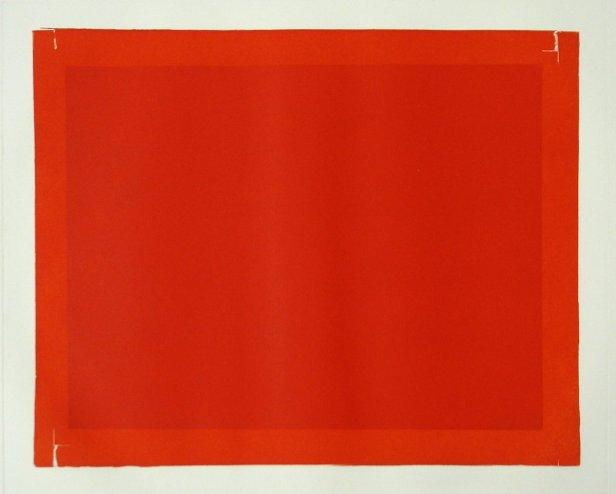 José Pedro Croft - Sem título, 2006 - Gravura em água tinta, nº 8/24 - 50x65cm. Cortesia do artista e Galeria Vera Cruz.