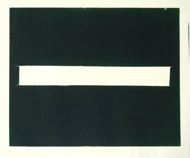 José Pedro Croft - Sem título, 2006 - Gravura em água tinta, nº 7/24 – 50x65cm. Cortesia do artista e Galeria Vera Cruz.