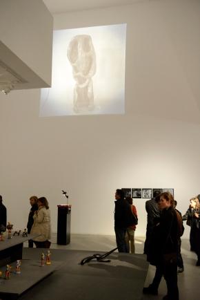 Vista da exposição 'Ernesto de Sousa e a Arte Popular'. Fotografia © Paulo Pacheco.