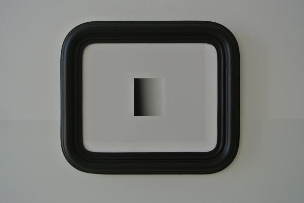 vista da exposição 'Flow' de José M. Rodrigues n' A Pequena Galeria, Lisboa.