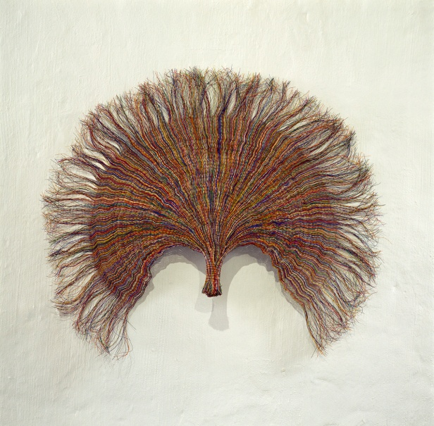 Paul Edmunds, Fan, 2006 - 7 | PVC – fio isolado, fio de cobre / PVC-insulated wire, copper wire.
