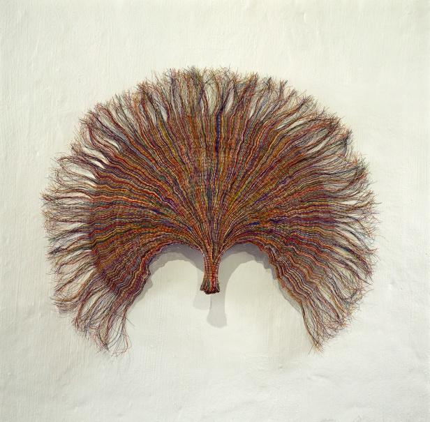 Paul Edmunds, Fan, 2006 - 7 | PVC – fio isolado, fio de cobre / PVC-insulated wire, copper wire.