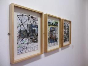 Vista da exposição Art Stabs Power:que se vayan todos!; Paul Eachus, 2014. © Inês Valle.