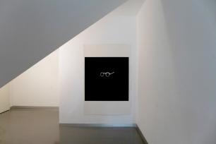vista da exposição (pormenor) 'Dois deles' de Jorge Molder na Appleton Square, Lisboa. Cortesia do artista e de Appleton Square.