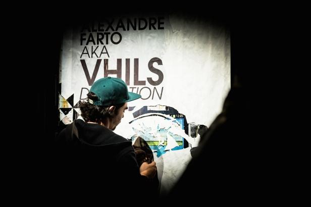 Alexandre Farto (Vhils). Retrato do artista. Fotografia: Silvia Lopes. Cortesia Fundação EDP.