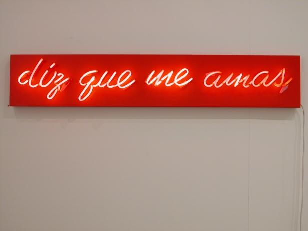 Ana Pérez-Quiroga, 'diz que me amas'. Cortesia da artista.