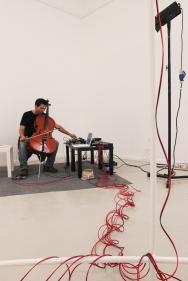 Ricardo Jacinto, Casca (partes escolhidas), intervenção no Colégio das Artes da Universidade de Coimbra. Cortesia do artista e Colégio das Artes.