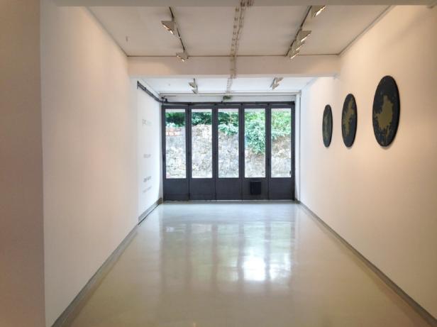 Jorge Santos, vista da exposição Marquise, Galeria Presença, Porto. Cortesia do artista e Galeria Presença.