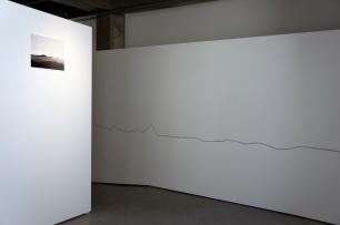 Valter Ventura, vista da exposição 'Viagem ao Fim' no CCCTV. Cortesia do artista.