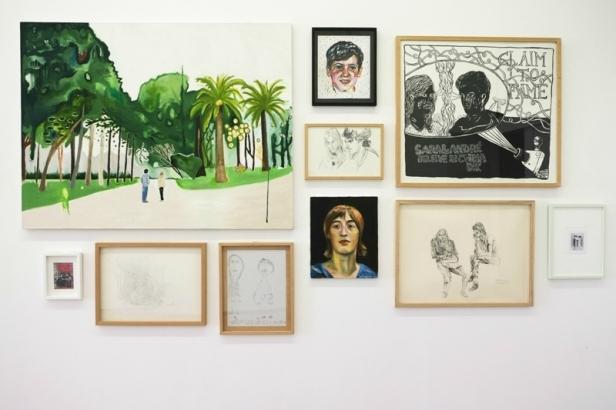 Vista da exposição Contra/cto (detalhe), Sara e André, trabalhos selecionados de Fundação Sara e André, dimensões variáveis. Imagem: Cortesia dos artistas e 3+1 Arte Contemporânea, Lisboa.