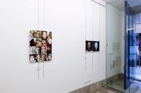 Vista da Exposicao Self Face, Dear Gallery, Porto, setembro 2014