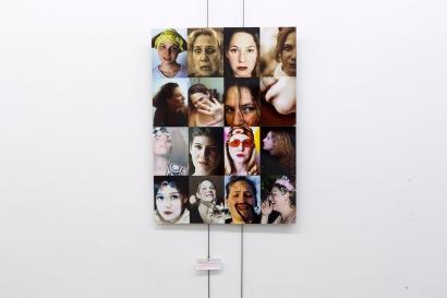 Mireille Loup, exposicao Self Face, Dear Gallery, Porto, setembro 2014