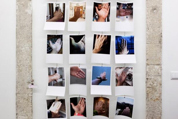 Luisa Ferreira, Alexandre Almeida e Jose Bacelar, Exposicao Self Face, Dear Gallery, Porto, setembro 2014.