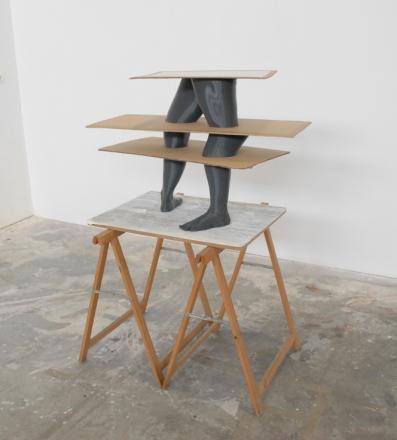Julião Sarmento, Broken Alice, 2014. Cortesia do artista e Galeria Fonseca Macedo, 2014.