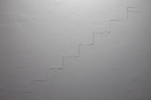 Rui Calçada Bastos, (pormenor) vista da exposição 'Passagem de Nível', Invaliden1 galerie, Berlim, 2014. Cortesia do artista e Invaliden1 galerie.
