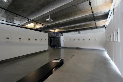 Pedro Letria, exposição Cut Short, CCCTV. Imagem cortesia do artista e CCTV-Cooperativa de Comunicação e Cultura de Torres Vedras, 2014.