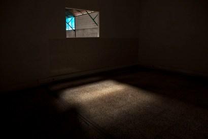 da fábrica que desvanece à baía do tejo, intervenção. Fotografia Jorge Graça.