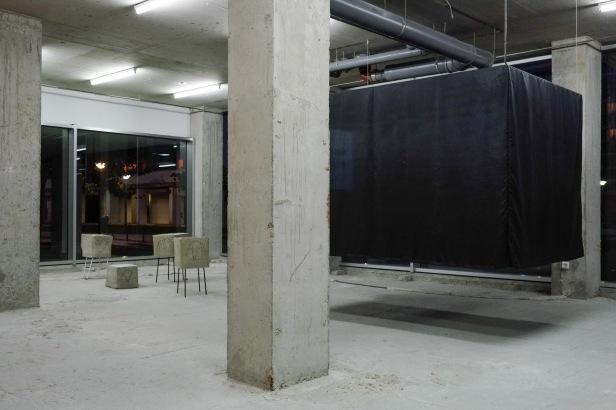 Judith Hopf, On time, 2014, vista da instalação © Arne Kaiser