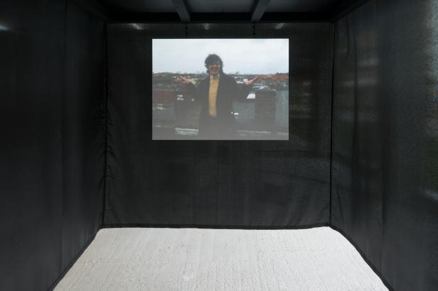Lumiar Cité, Judith Hopf, On time, 2014, vista da instalação © DMF Fotografia.