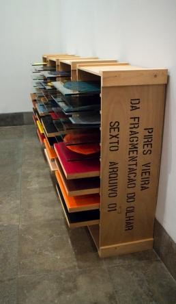 Vista da exposição Pires Vieira Antológica: da Pintura à Pintura. Museu Nacional de Arte Contemporânea - Museu do Chiado. Fotografia Making Art Happen.