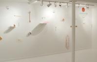 Sara Bichão, vista da exposição 'Somebody's Address', 2014. Cortesia da artista e Rooster Gallery, NY.