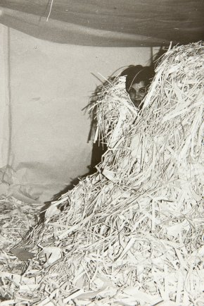 Túlia Saldanha, Sala de Descontração, 1976. Fotografia: Luísa Saldanha.