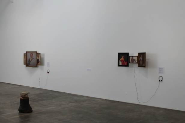 Vasco Araújo, vista da exposição 'Re Cordum: Voltar ao Coração' na Baginski, Galeria | Projectos. Imagem: cortesia do artista e Baginski, Galeria | Projectos