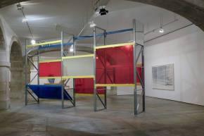 Vista da exposição 'Objetos Imediatos' de José Pedro Croft. Galeria do Torreão Nascente   Cordoaria Nacional (Lisboa). Fotografia: Mário Bastos. Cortesia da Câmara Municipal de Lisboa.
