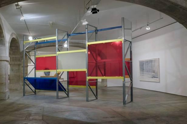 Vista da exposição 'Objetos Imediatos' de José Pedro Croft. Galeria do Torreão Nascente | Cordoaria Nacional (Lisboa). Fotografia: Mário Bastos. Cortesia da Câmara Municipal de Lisboa.