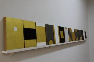 """vista da exposição """"Como se fosse a primeira vez"""", Ana Velez. Cortesia da artista e Miguel Justino Contemporary Art."""