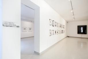 Inês d'Orey, vista geral da exposição Caixa Negra. Galeria Presença, Porto.