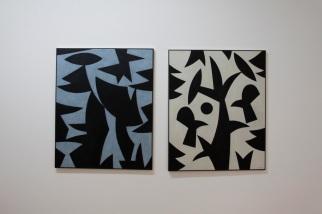 """vista da exposição """"Como se fosse a primeira vez"""", Justino Alves. Cortesia da artista e Miguel Justino Contemporary Art."""