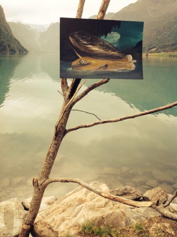 Gonçalo Pena, Lago. Cortesia do artista e Galeria Luís Serpa.