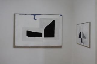 """vista da exposição """"Como se fosse a primeira vez"""", Miguel Navas. Cortesia da artista e Miguel Justino Contemporary Art."""