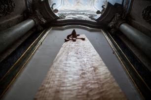 vista da exposição (site-specific) Isaque Pinheiro, Carpe Diem Arte e Pesquisa, Lisboa, 2014. Cortesia da artista e CDAP. Fotografia Oxana Ianin.
