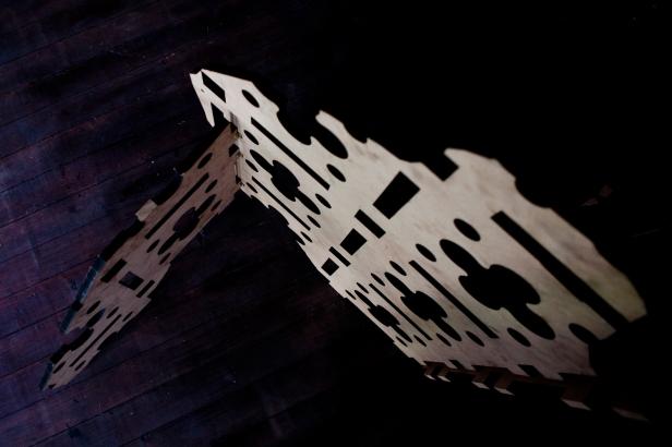 vista da exposição (site-specific) Luís Nobre, Carpe Diem Arte e Pesquisa, Lisboa, 2014. Cortesia da artista e CDAP. Fotografia Oxana Ianin.