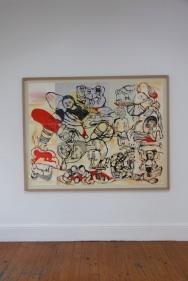 """vista da exposição """"Como se fosse a primeira vez"""", Sara Maia. Cortesia da artista e Miguel Justino Contemporary Art."""