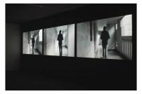 Vista da exposição Sinfonia do desconhecido de Nuno Cera, MNAC-Museu do Chiado, Maio|Junho, 2014. Cortesia do artista.