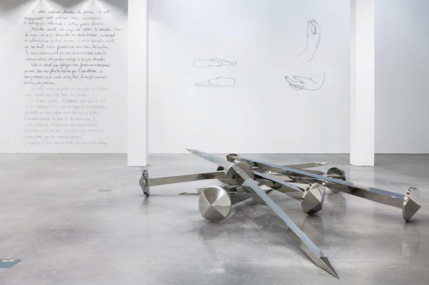 Yazid Oulab, Vista de sala @ FRAC PACA, Marselha, 2013. Cortesia do artista e Caroline Pagès Gallery.