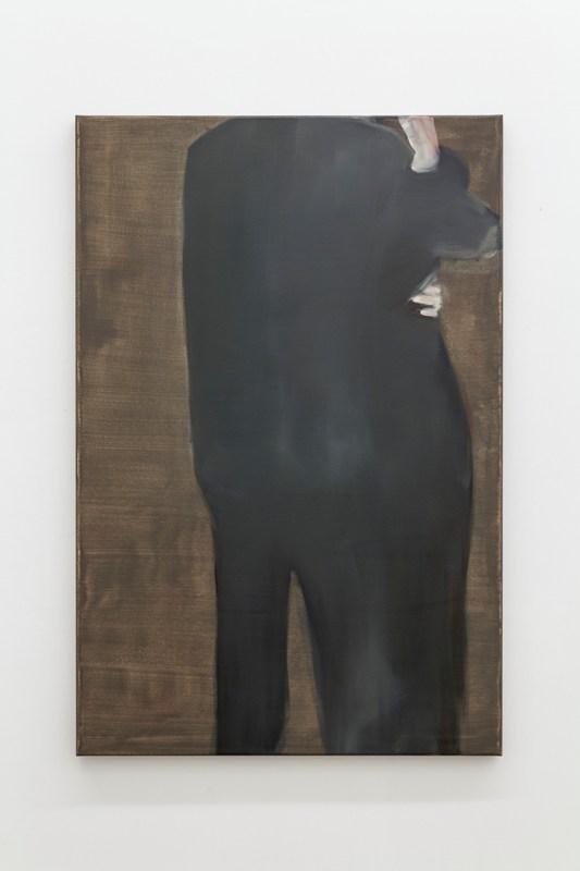 Daniela Krtsch, Sem título #3 (série Heimat), 2014, óleo sobre tela, 120 x 80 cm. Imagem cortesia da artista e 3+1 Arte Contemporânea, Lisboa. Fotografia da exposição: João Ferro Martins.