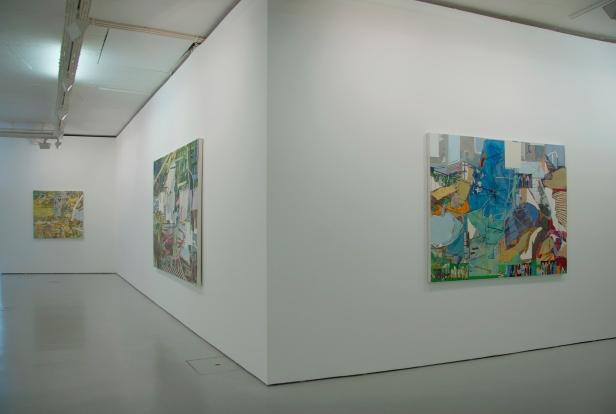 Lucia Laguna, vista da exposição 'Outras Paisagens'. Cortesia da artista e Cristina Guerra Contemporary Art.
