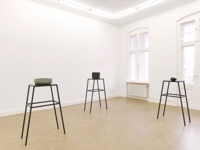 "Musa Paradisiaca, ""Come back Sir, you're not from that world. Please, come back Sir, you're from this world"". Exhibition view: Dan Gunn, Berlin. Courtesy Dan Gunn, Berlin."